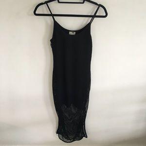 LF Mesh Midi Dress